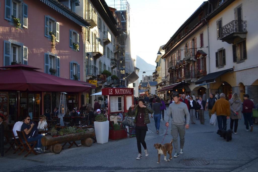 Rue Paccard Chamonix