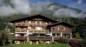 Auberge bois prin Chamonix