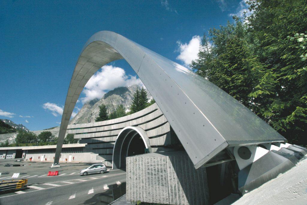 Tunnel du Mont Blanc du côté italien