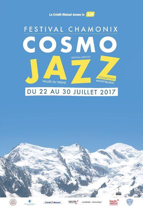 Affiche CosmoJazz festival 2017