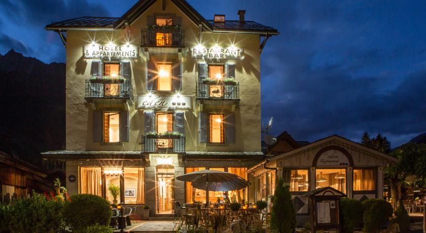 hotel l'eden Chamonix