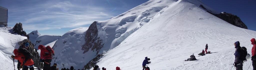 Abri Vallot et Mont Blanc