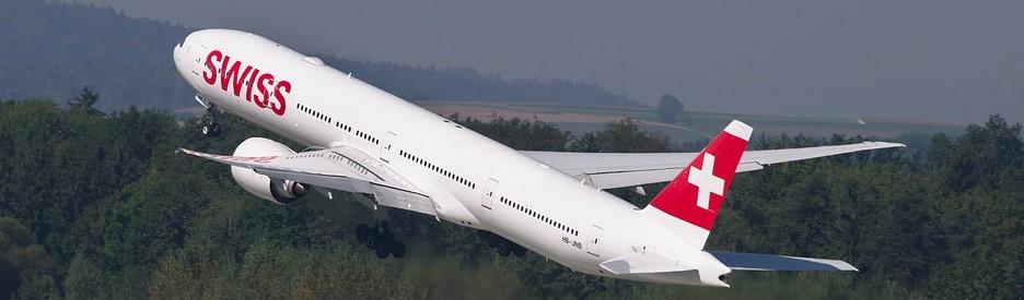 avion Swiss Aéroport Genève
