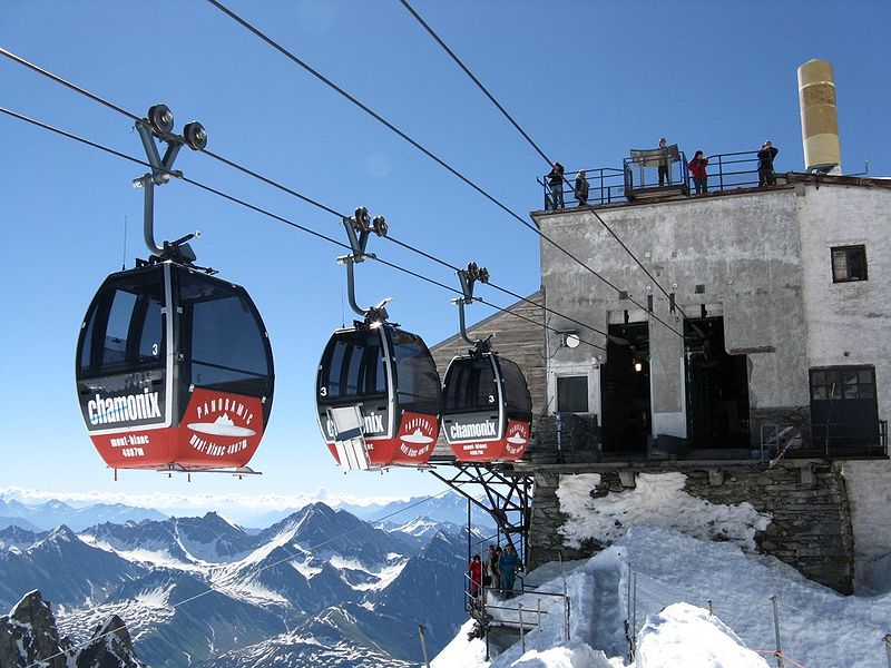 téléphérique Mont Blanc