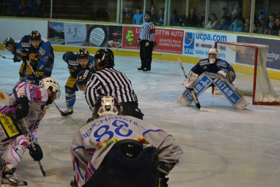 Gardien Chamonix Hockey