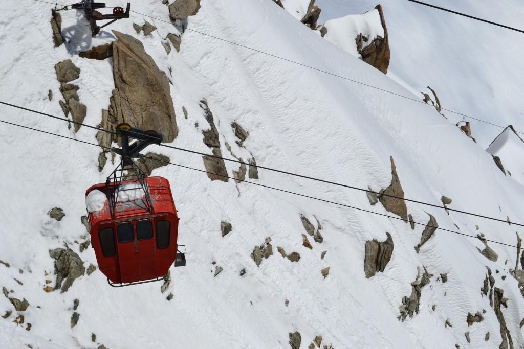Ancienne télécabine Panoramic Mont Blanc