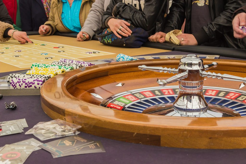 Casino roulette Chamonix Mont Blanc