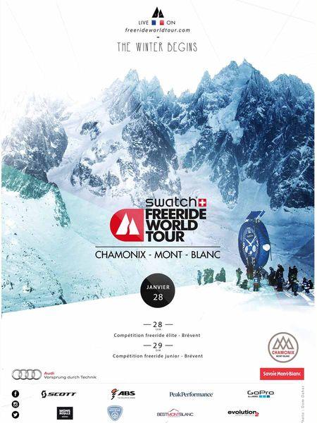 Chamonix freeride world tour 2017