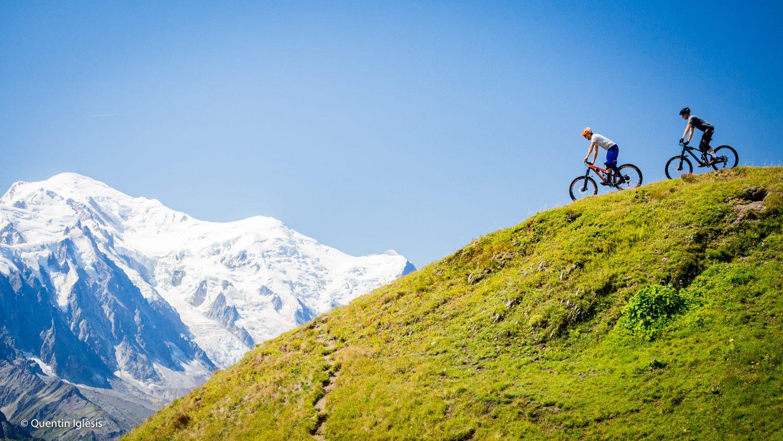 VTT descente bike park Domaine de Balme Chamonix