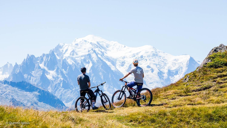 VTT bike park Balme à Chamonix