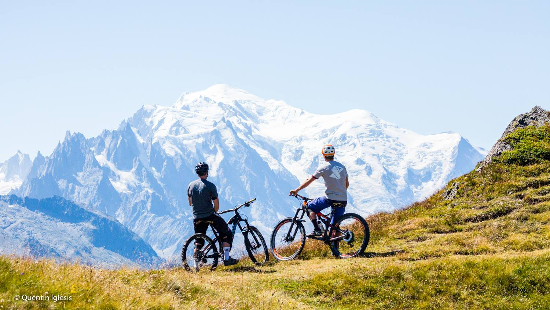 VTT bike park Chamonix