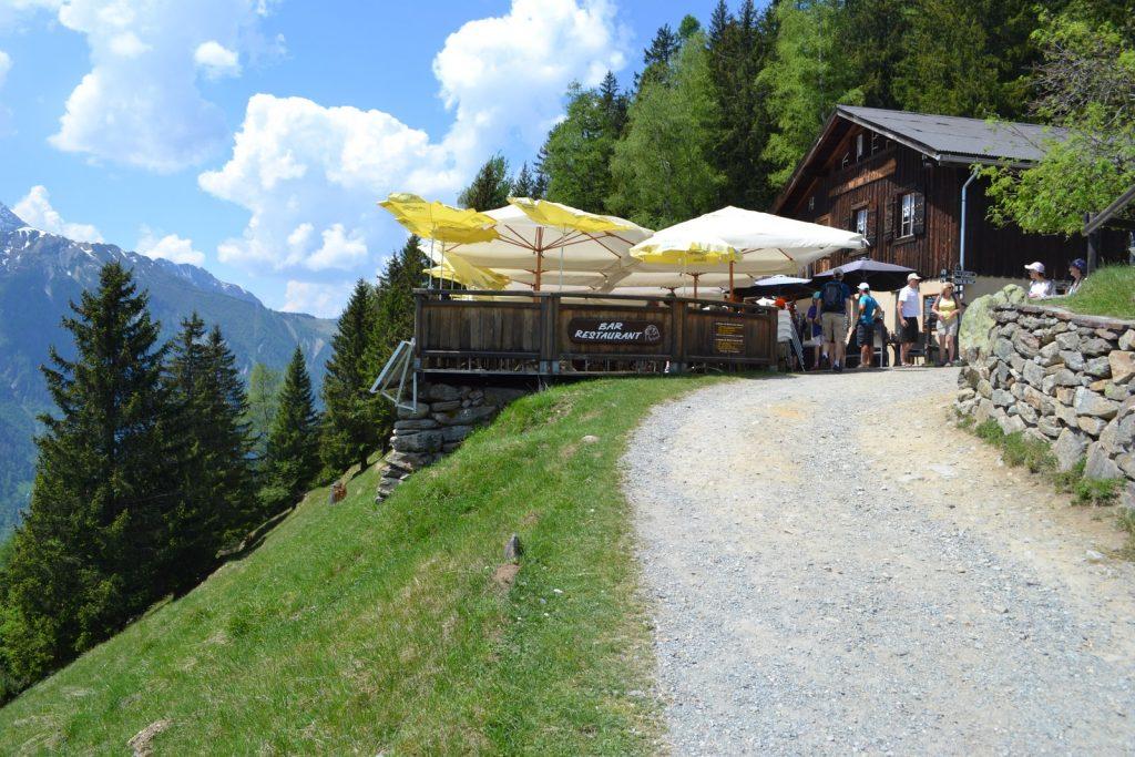 Le balcon du Merlet Restaurant altitude