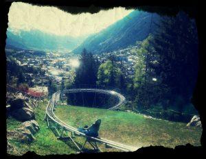 Luge Alpine Coaster Chamonix parc de loisirs