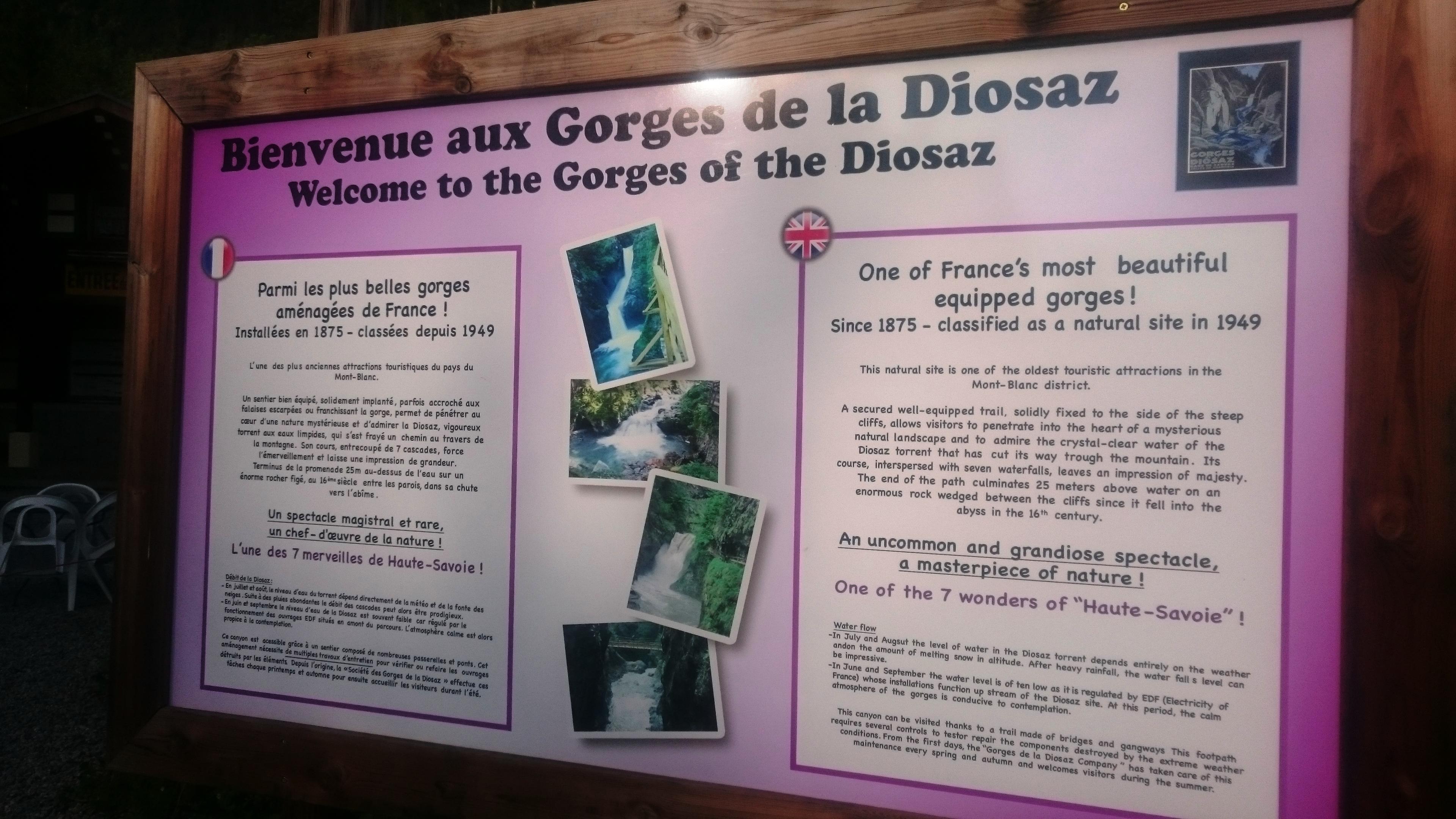 Gorges de la Diosaz