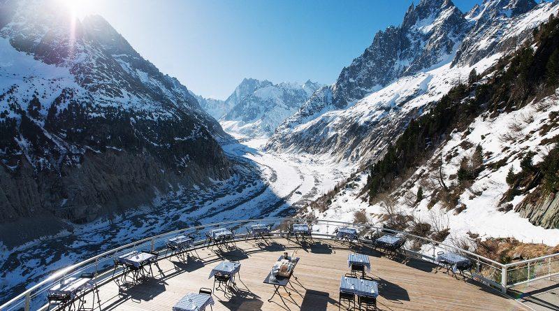 Terrasse panoramique restaurant Mer de Glace