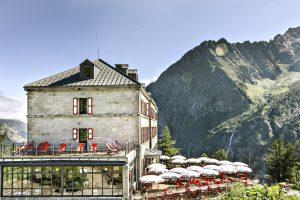 Terrasse extérieure Restaurant Montenvers