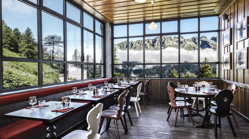 Restaurant Montenvers avec vue panoramique