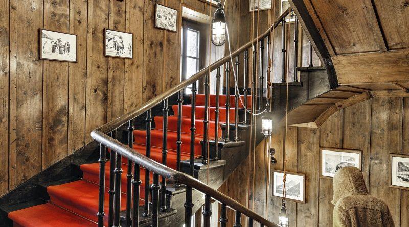 Escalier refuge Montenvers