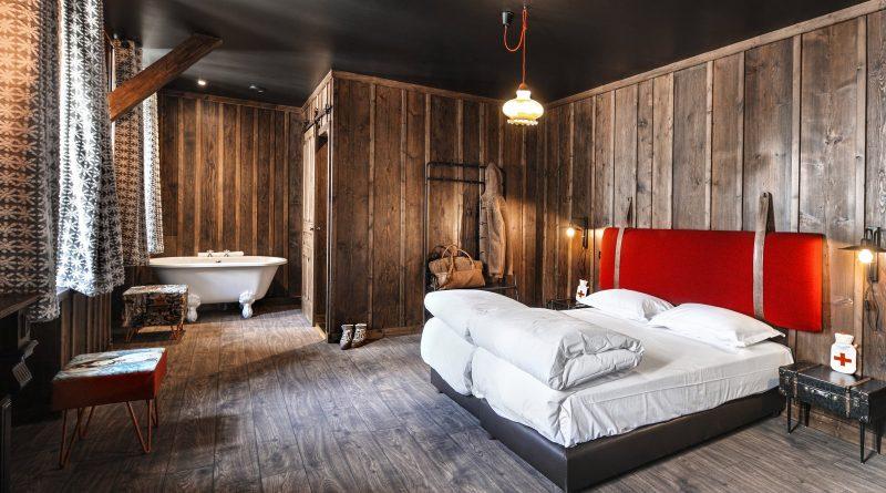 Chambre avec baignoire Terminal Neige Chamonix