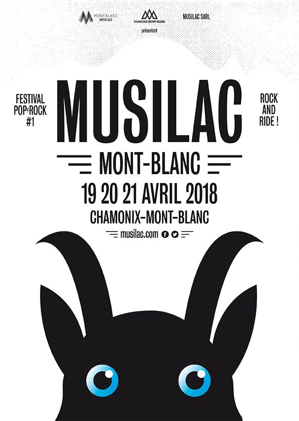 Musilac Chamonix Mont Blanc avril 2018