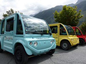 Autoporatge véhicule Chamonix