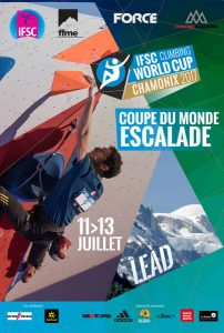 Coupe du Monde escalade 2017