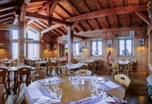 Salle restaurant Bergerie Planpraz Chamonix