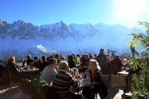 Terrasse Bergerie Planpraz Chamonix