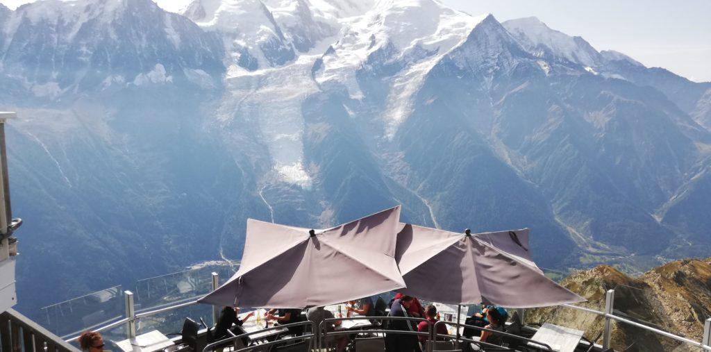 Restaurant panoramique Mont Blanc
